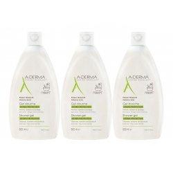 A-derma Trio Pack Gel Douche Hydra-Protecteur 3x500ml