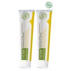 Cattier Duo Pack Dentargile Dentifrice Citron 2x75ml