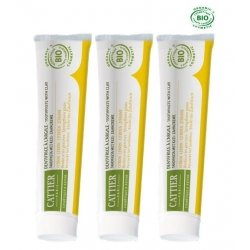 Cattier Trio Pack Dentargile Dentifrice Citron 3x75ml