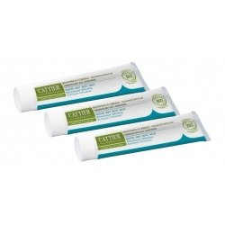 Cattier Trio Pack Dentargile Dentifrice Menthe 3x75ml