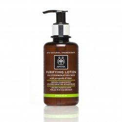 Apivita Cleansing Lotion Tonique Purifiante Peau Grasse/Mixte 200ml
