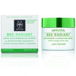 Apivita Bee Radiant Crème Anti-Age Texture Légère 50ml
