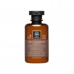 Apivita Shampooing Antipelliculaire Cheveux Gras 250ml
