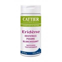Cattier Eridène Dentifrice Poudre Blanchissante 40g