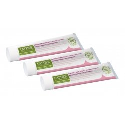 Cattier Trio Pack Eridène Dentifrice Gencives Fragiles 3x75ml