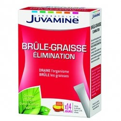 Juvamine Brûle-Graisse Elimination 14 sticks