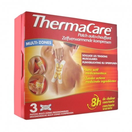 Thermacare Patchs Chauffants Multi-Zones 3 patchs