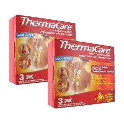 Thermacare Duo Pack Patchs Chauffants Multi-Zones 2x3 patchs