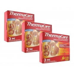 Thermacare Trio Pack Patchs Chauffants Multi-Zones 3x3 patchs