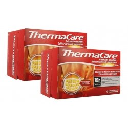 Thermacare Duo Pack Patchs Chauffants Dos 2x4 patchs