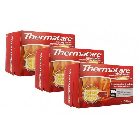 Thermacare Trio Pack Patchs Chauffants Dos 3x4 patchs