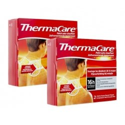 Thermacare Duo Pack Patchs Chauffants Nuque-Epaule-Poignet 2x2 patchs