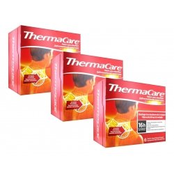 Thermacare Trio Pack Patchs Chauffants Nuque-Epaule-Poignet 3x6 patchs