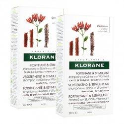 Klorane Duo Pack Shampooing Quinine 2x200ml