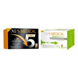 XLS Medical Pack Force 5/Ultra 5 180 gélules + XLS Medical Stabilisation 180 comprimés
