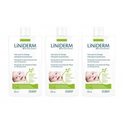Gilbert Trio Pack Liniderm Liniment Oleo Calcaire 3x250ml