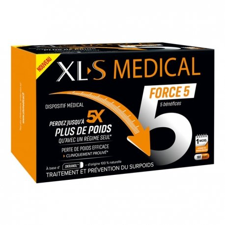 XL-S Medical Ultra 5 180 capsules