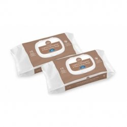 Gifrer Duo Pack Lingettes Nettoyantes à l'Huile d'Olive Vierge 2x70