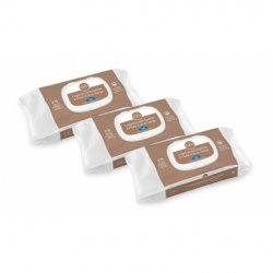 Gifrer Trio Pack Lingettes Nettoyantes à l'Huile d'Olive Vierge 3x70
