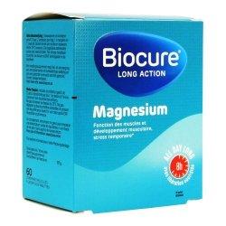 Biocure Long Action Magnesium 60 comprimés