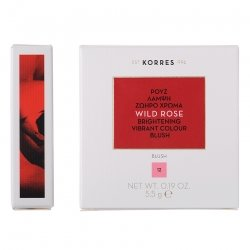 Korres KM Wild Rose Blush 12 Golden Pink 5.5g