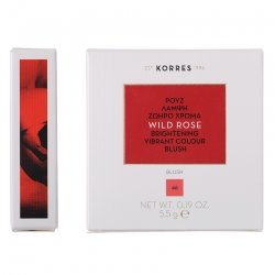 Korres KM Wild Rose Blush 46 Bright Coral 5.5g