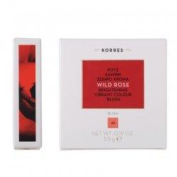 Korres KM Wild Rose Blush 42 Luminous Apricot 5.5g