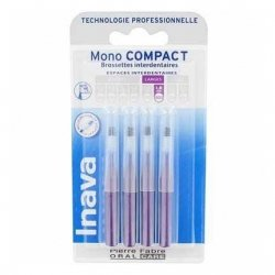 Inava Mono Compact Brossettes Interdentaires Larges 1,8mm