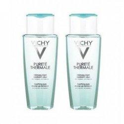 Vichy Duo Pack Pureté Thermale Démaquillant Apaisant Yeux Sensibles 2x150ml