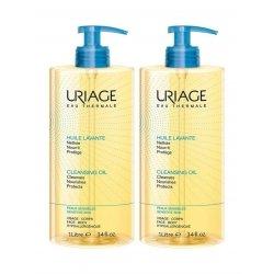 Uriage Duo Pack Huile Lavante Peaux Sensibles 2x1L
