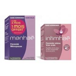 Manhaé Promopack 120 comprimés cure 4 mois + Intimhaé Feminite Intime 30 caps Offert