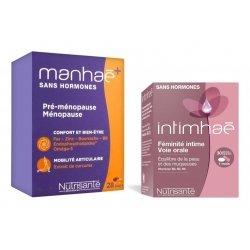 Manhaé+ Sans Hormones 56 caps + Intimhaé Feminite Intime 30 caps Offert