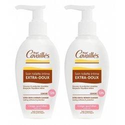 Rogé Cavaillès Duo Pack Soin Toilette Intime Extra-Doux 2x200ml