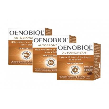 Oenobiol Trio Pack Autobronzant 3x30 capsules