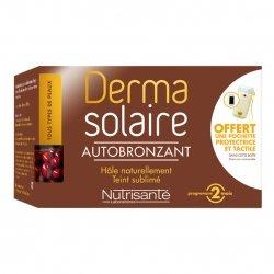 Nutrisanté Derma Solaire Autobronzant 120 capsules