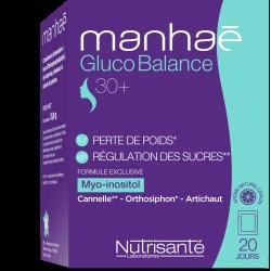 Manhaé Gluco Balance 20 jours 20 sachets