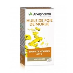 Arkopharma Arkogélules Huile Foie De Morue 220 capsules