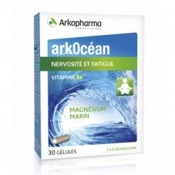 Arkopharma Arkocéan Nervosité et Fatigue Magnésium 30 gélules