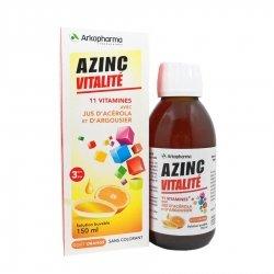 Arkopharma Azinc Forme et Vitalité Solution Buvable 150ml