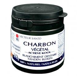 Vecteur Santé Charbon Végétal Blanchiment Dentaire 30g