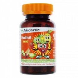 Arkopharma Multivit Azinc 60 Gommes Vitaminées