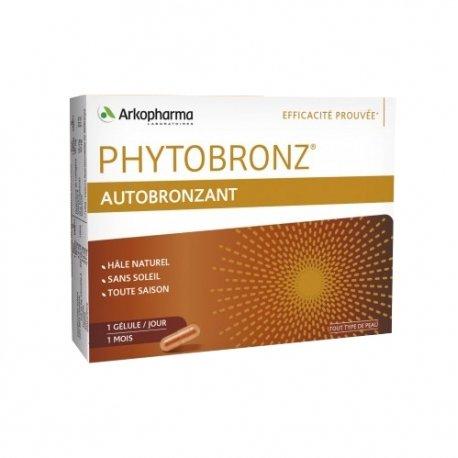 Arkopharma Phytobronz Autobronzant Hâle Naturel 30 gélules