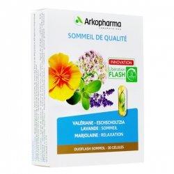Arkopharma Duoflash Sommeil de Qualité 30 gélules