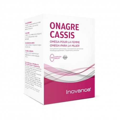 Inovance Onagre Cassis 100 capsules