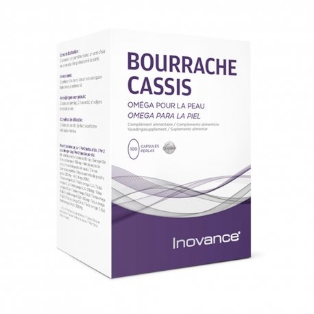 Inovance Bourrache-Cassis 100 capsules