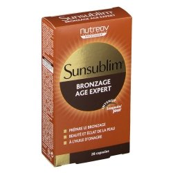 Nutreov Sunsublim Bronzage Age Expert 28 capsules