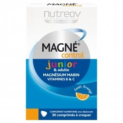 Nutreov Magné Control Junior & Adulte 30 comprimés