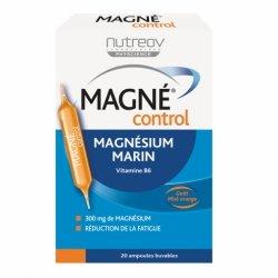Nutreov Magné Control Magnésium Marin 20 ampoules