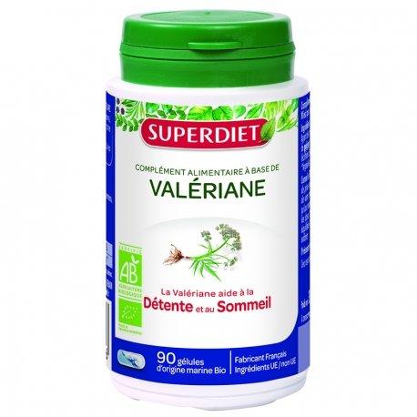 Superdiet Valériane 90 gélules