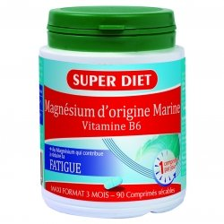 Superdiet Magnésium Marin 90 comprimés